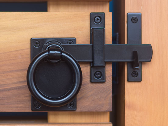 Contemporary Ring Gate Latch Product Details