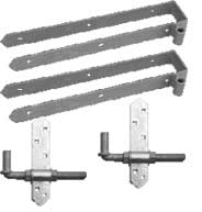 Double Strap Hinge Sets Rear Eye