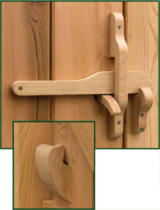 Wooden Latches Cambridge Latch Oxford Latch